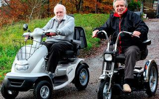 Как выбрать электроскутер для пожилых и инвалидов