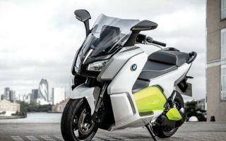 Обзор электроскутера BMW C Evolution