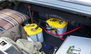 Особенности подключения второго аккумулятора в машину