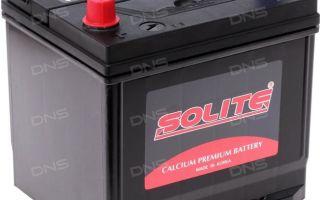Подробно про аккумуляторы Solite