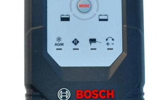 Зарядное устройство для автомобильного аккумулятора Bosch