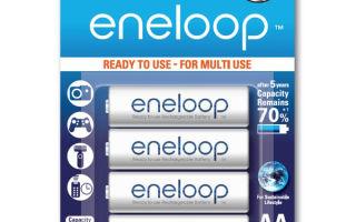 Что из себя представляют аккумуляторы eneloop?