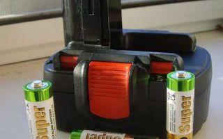 Лучшие Ni─cd аккумуляторы для шуруповёрта