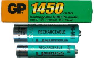 Что из себя представляют никель металлогидридные аккумуляторные батареи?