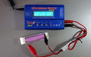 Как правильно заряжать li-ion аккумуляторы 18650