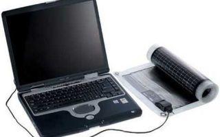 Устройство солнечной батареи для телефона и ноутбука