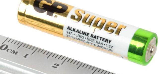 В чём особенность алкалиновых батарей?