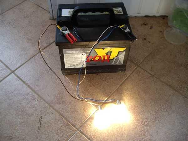 Kak pravilno razryadit akkumulyator 4 - Чем разрядить автомобильный аккумулятор